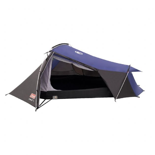 Coleman Cobra 3 Camping Tent, 3 Person Camping Hiking Backpacking Tent- Grasshopper Leisure